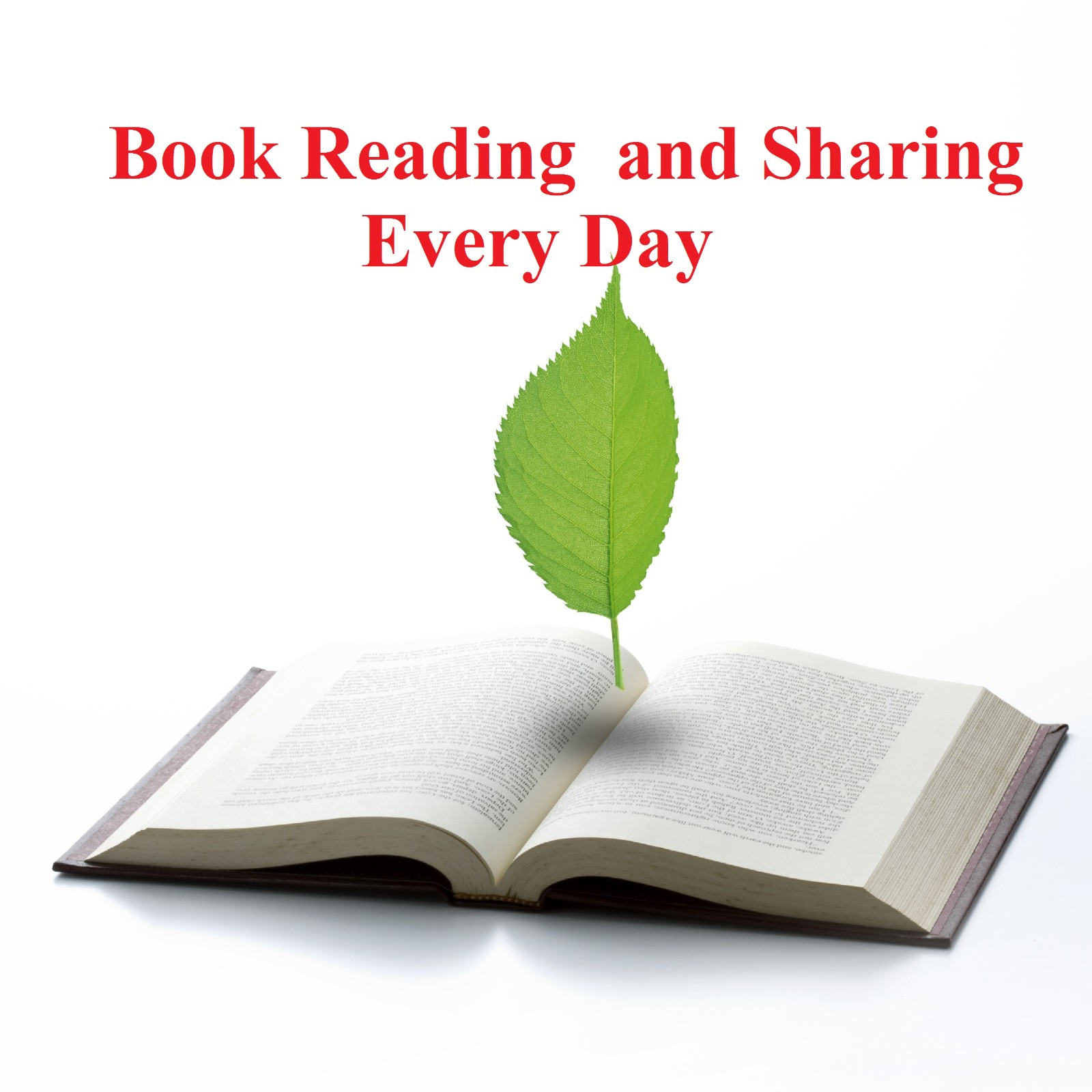 Book reading and sharing every day