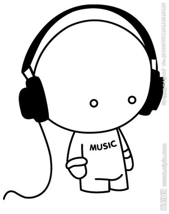 动漫听音乐的qq头像
