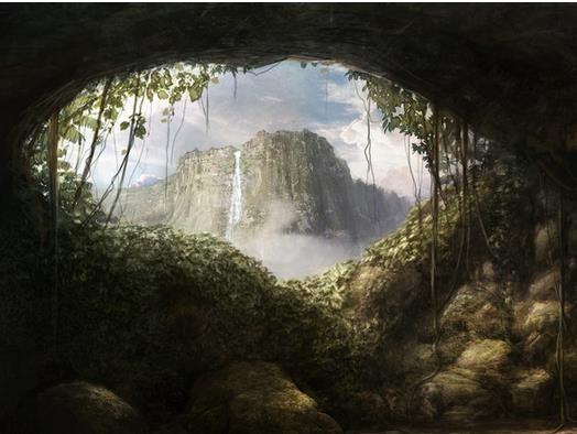 山洞旅游设计图