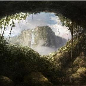 山洞里的寂静!