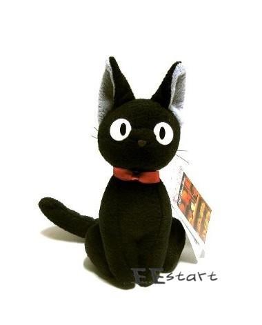 带黑猫的欧美头像