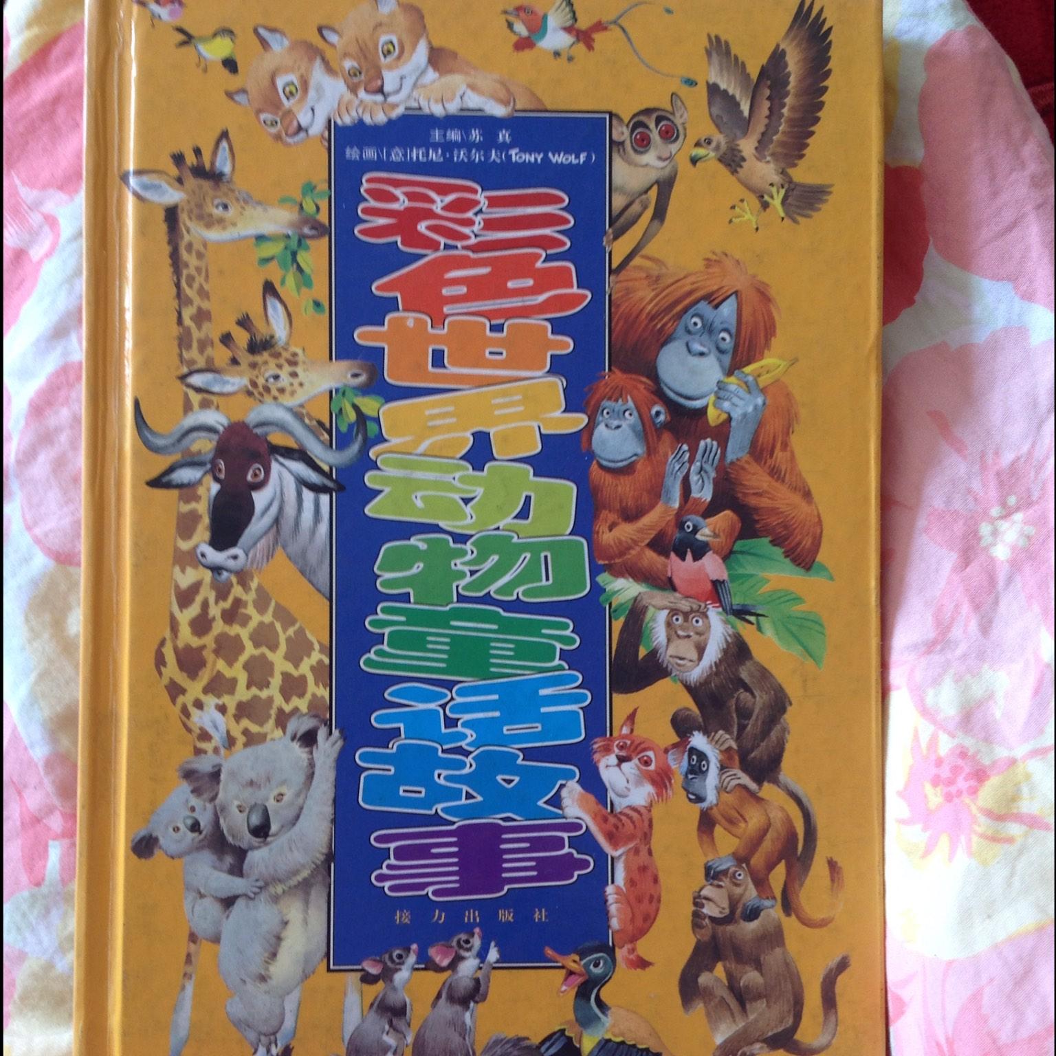 【彩色世界动物童话故事】在线收听