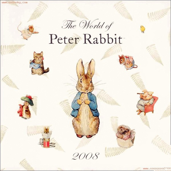 彼得兔peter rabbit童话系列