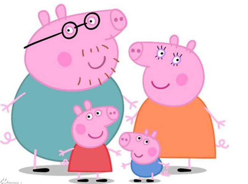 《Peppa Pig》2004年在英国的FIVE 和NICK JR.电视台首播后,全球超过120个国家的电视频道也相继播映,并荣获 2005年法国Annecy 国际动画展Cristal奖「最佳电视制作」。故事与对话相对简单,让小朋友在欢笑之余,与粉红猪全家一起学习英文。更多精彩内容,请前往微信公众号:上海大V亲子阅读或dvqzyd!
