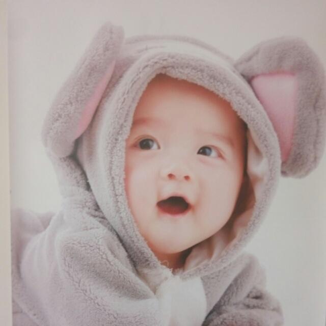 胎教漂亮混血宝宝壁纸