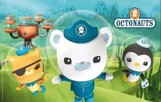 动画讲述了八个可爱小动物组成的海底探险小队的故事.