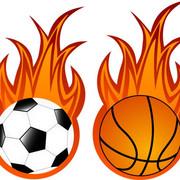微评足球篮球