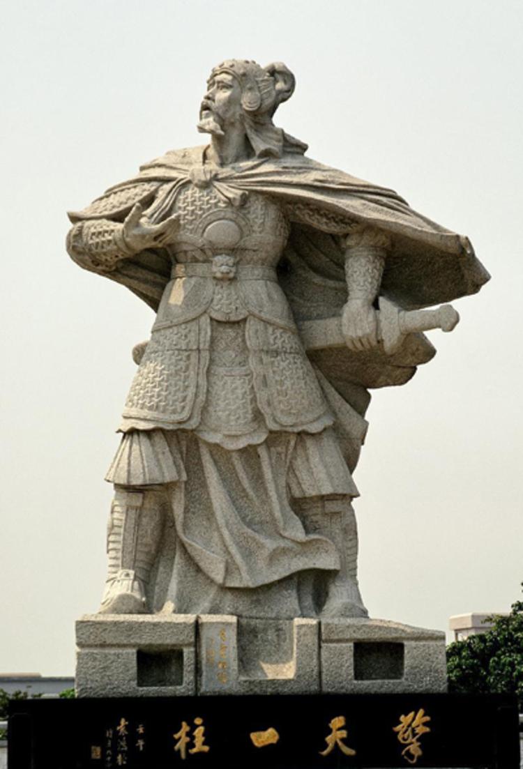 袁崇焕雕像