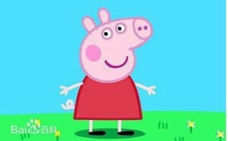 佩奇是一只非常可爱的小猪,5岁了,她和她的爸爸,妈妈以及弟弟乔治生活