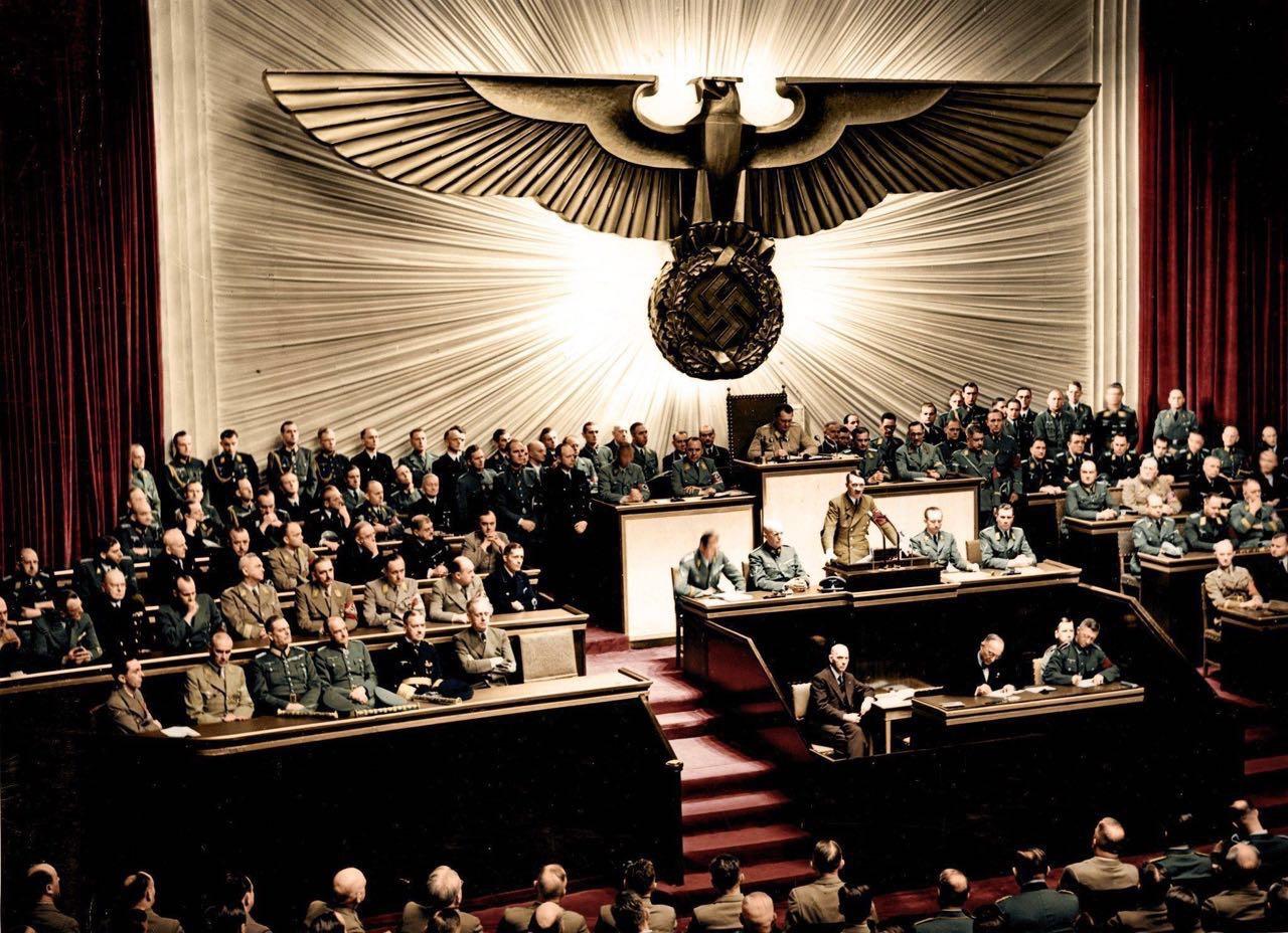 纳粹德国浮沉实录