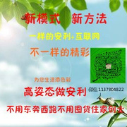 小庞分享《诠释互联网安利又快又稳的秘籍》(微信1137904822)