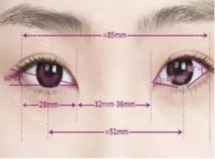 双眼之间的距离