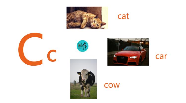 英文字母发音C