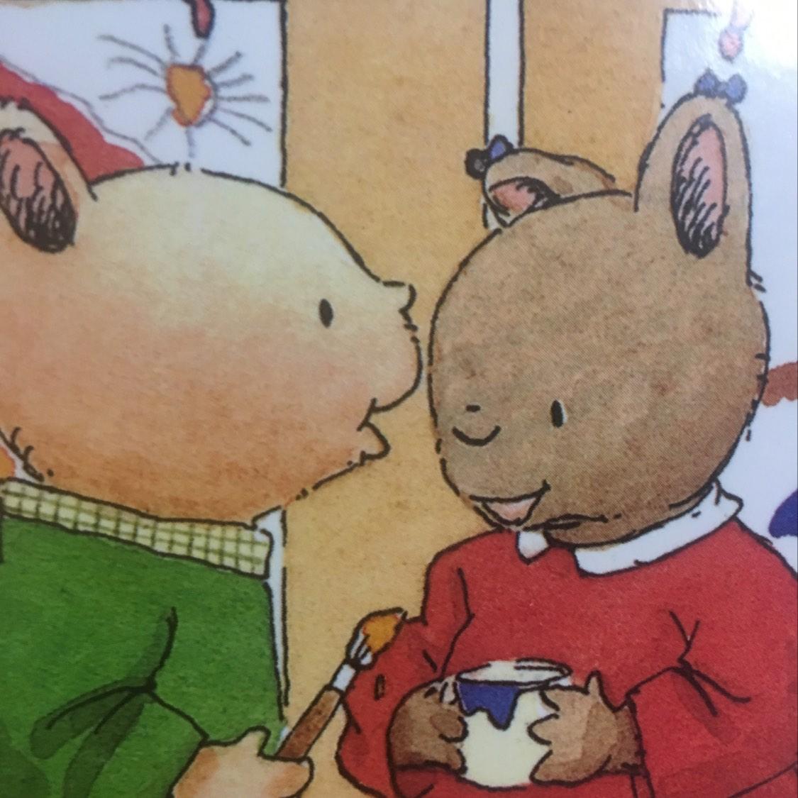 小兔汤姆成长的烦恼图画书