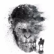 075《猩球崛起3:终极之战》(5.5分):影院无佳片·猴子称大王-喜马拉雅fm