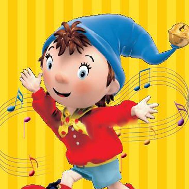 """这个可爱的小木偶诺弟 ( noddy ) 是英国bbc最新力作""""淘气的诺弟""""节目"""