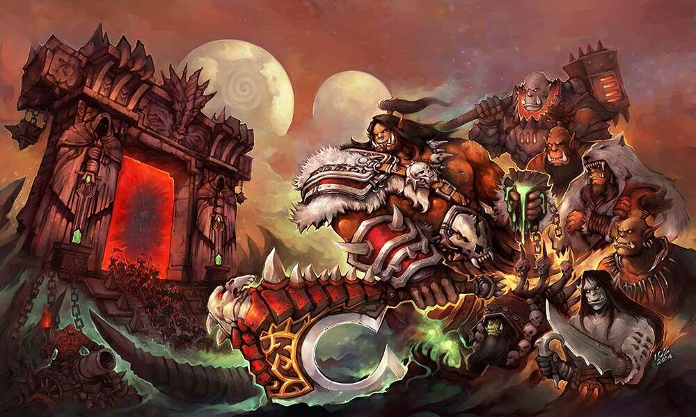 玄幻奇幻 《穿越黑暗之门》《魔兽世界》官方小说   与黑龙王死亡之翼