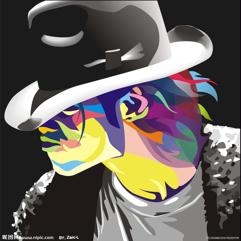 迈克尔杰克逊动漫图片