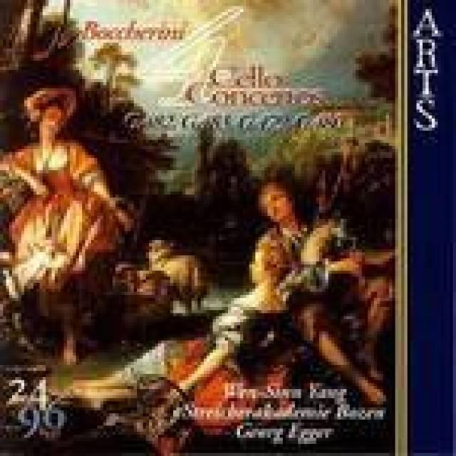 博凯里尼 第9降b大调大提琴协奏曲 g482