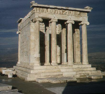 雅典卫城-胜利女神庙飞来峡漂流旁边住宿图片