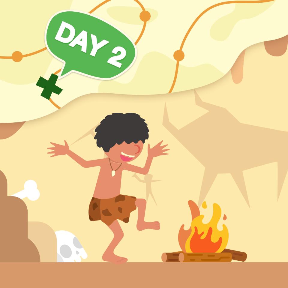 【跟著喜貓去冒險】Day2:回到遠古