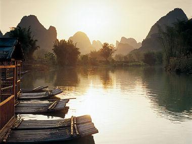 山水风景头像 励志