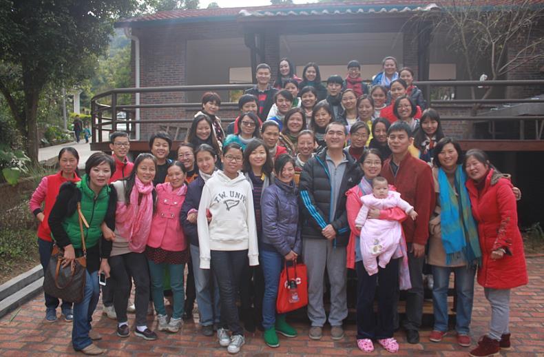 广州站-2014年12月6日广州帽峰山华德福幼儿园