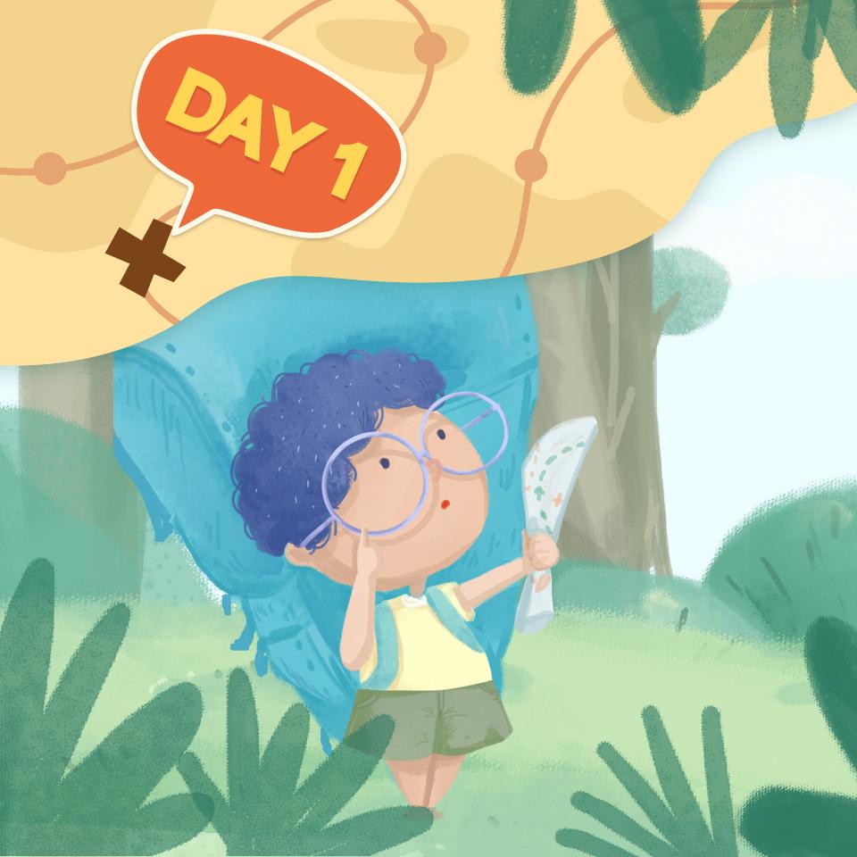 【跟著喜貓去冒險】Day1:尋寶探險