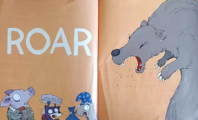 尖熊手绘图片大全
