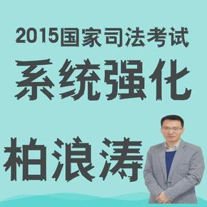2015司法考试系统强柏浪涛-刑法