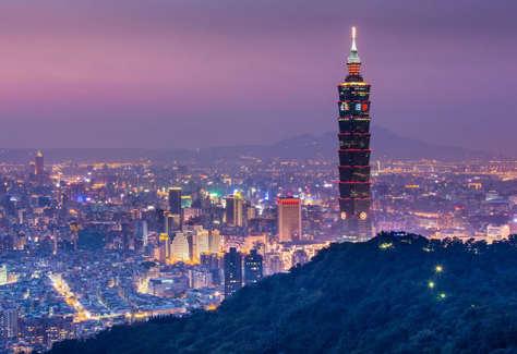 台湾—台北—101大楼图片