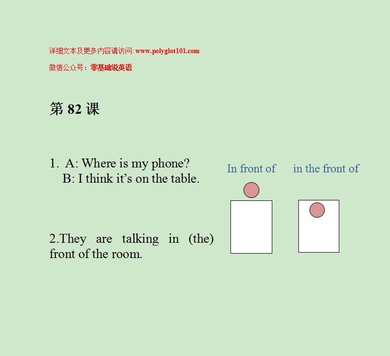 【零基础说英语】第82课 房间 & 手机 & 桌子 _ room & phone & table