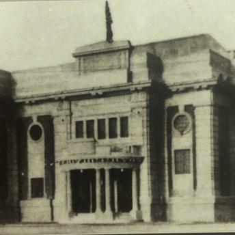 中国第一家放映前苏联影片的电影院
